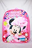 Disney Minnie Mouse 12'' Toddler Girl Backpack School Bookbag