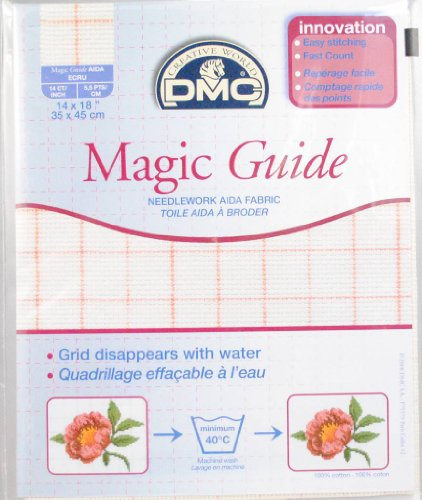 DMC MAGIC GUIDE AIDA (Magic Guide Aida) DC27MG/Ecru (japan import)