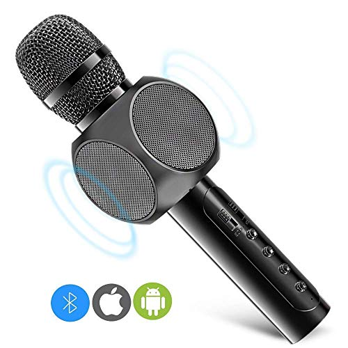 Used, Wireless Bluetooth Karaoke Microphone with Dual Speaker, for sale  Delivered anywhere in Canada