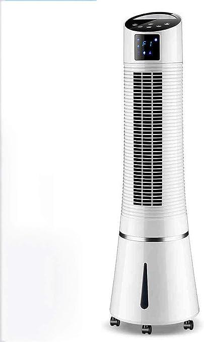 cher Aire Acondicionado Ventilador doméstico refrigerador Aire Acondicionado Ventilador frío más Agua Solo Sonido Fresco Tipo de Torre Nuevo pequeño Aire Acondicionado: Amazon.es: Hogar