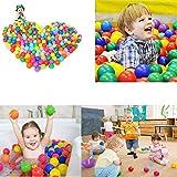 Kaptin 5.5cm 100PCS Soft Plastic Kids Play