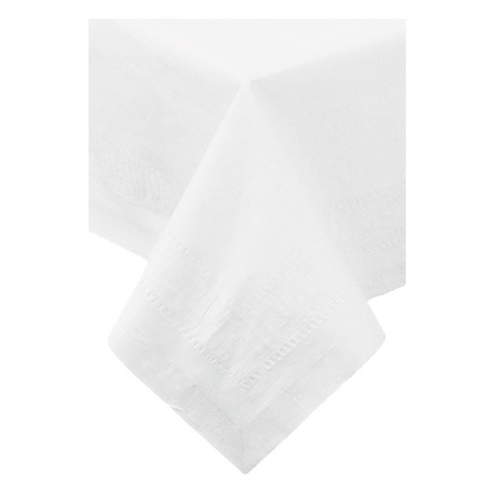 Hoffmaster 210046 CPC 54 x 54 in. 3-Ply Table Cover - White44; Case of 50