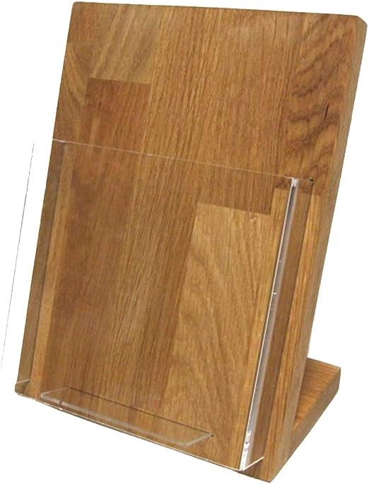 Linlay Intarsien Gravuren Din A5 Flyerhalter Holz