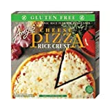 Amys Single Serve Rice Crust Cheese Pizza, 6.2 Ounce -- 12 per case.