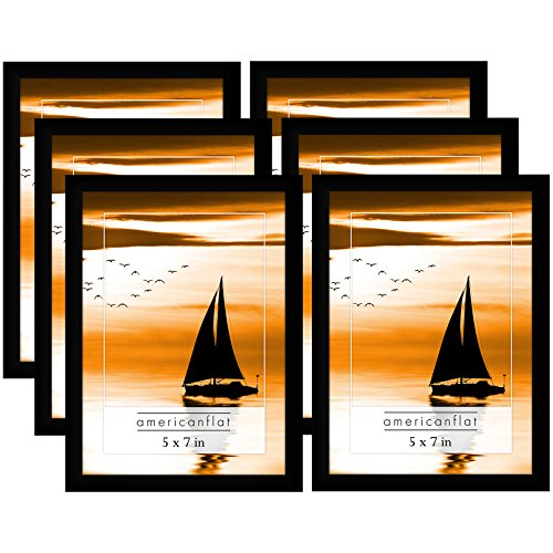 cheap black 5x7 picture frames - 7