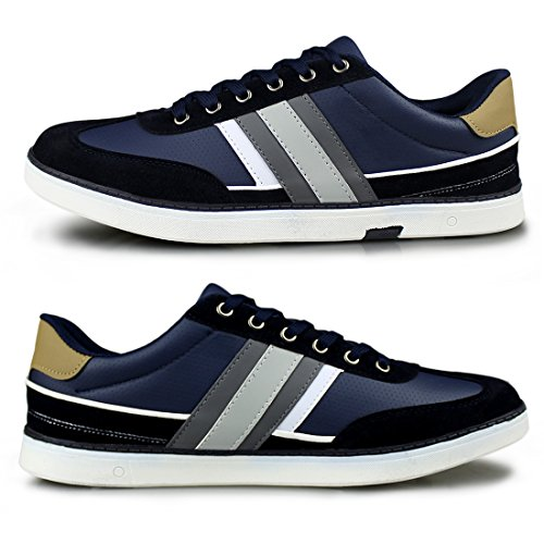 Casual navy Fashion Sneakers Comfortable Lace Hawkwell 1833 up Men's gxvPCn5