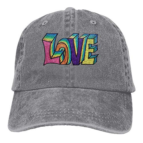 Cowgirl Hat Cowboy Women Men for Cap Rainbow Love Sport Denim Hats Skull x6CY6XwrHq