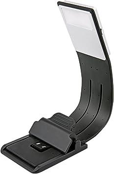 Lámpara de Lectura LED] Aimego USB Recargables Lámparas-Clips 4 ...