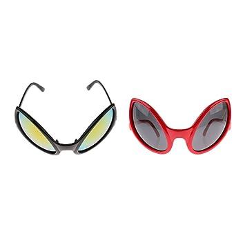 Sharplace 2pcs Gafas de Sol Traje Ropa Especial Extranjero ...