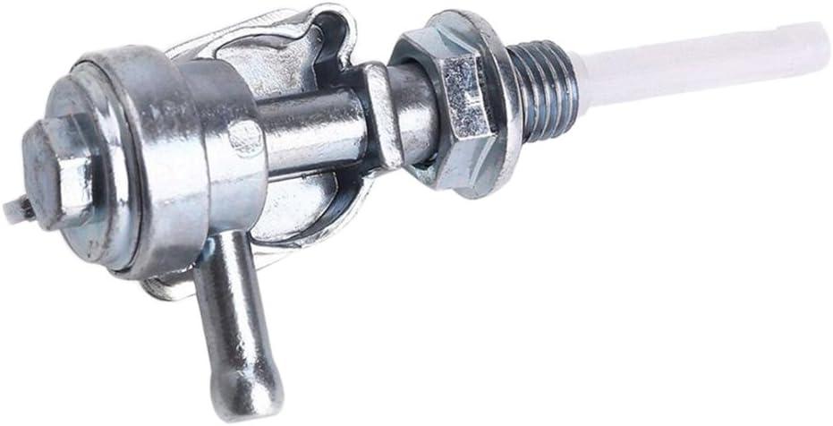 On//Off Fuel Shut Off Valve Tap Switch M10x1.25 Gasoline Generator Fuel Tank Switch Generator Engine Oil Tank Replacement 2KW-6.5KW