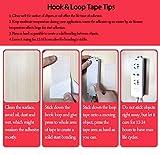 LLPT Hook and Loop Tape Color Black 1 Inch x 23