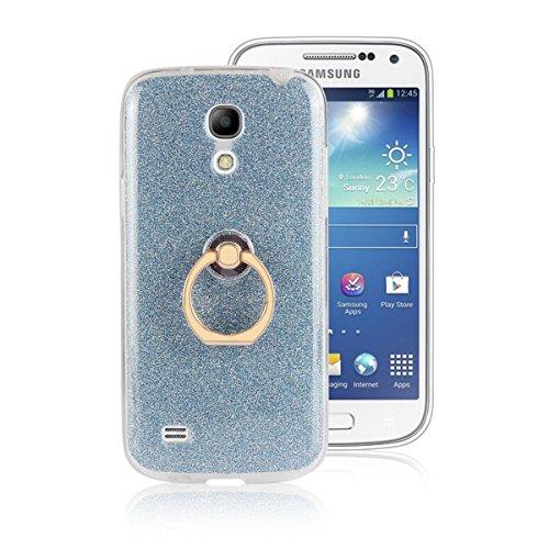 X Soporte Hebilla iPhone Case Flash pinlu Función del Para Azul Anti Azul Suave Delgada Anillo Brillante Ultra Diseño TPU Silicona Funda Arañazos ZWUUF