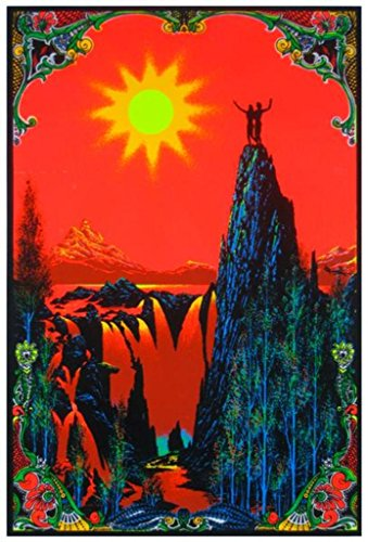 Garden Of Eden Black Light Poster