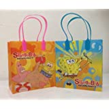 Spongebob Party Favor Goodie Small Gift Bags 12