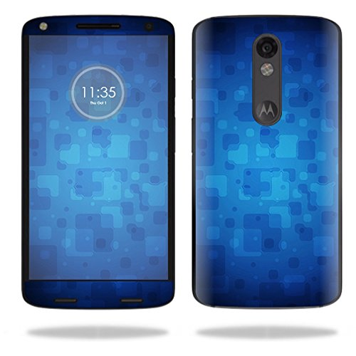 UPC 053722105393, MightySkins Protective Vinyl Skin Decal for Motorola Droid Turbo 2 case wrap cover sticker skins Blue Retro