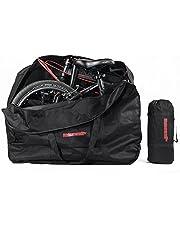 Selighting Bolsa Transporte Bicicleta Plegable, Bolsa de Almacenamiento de Bici Bolsa para el Manillar Bolso Plegable para el Envío de Viajes Aéreos, 20 Inch