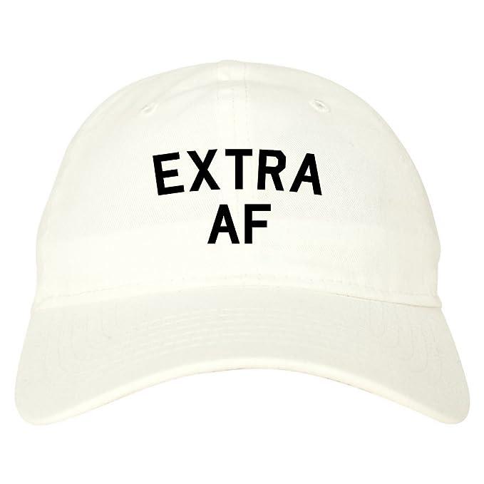 5afd83fa421 Amazon.com  FASHIONISGREAT Extra AF Funny Dad Hat Baseball Cap Beige   Clothing