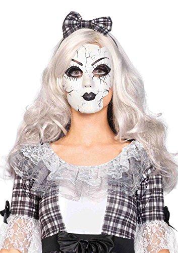 Leg Avenues Womens Porcelain Doll Mask
