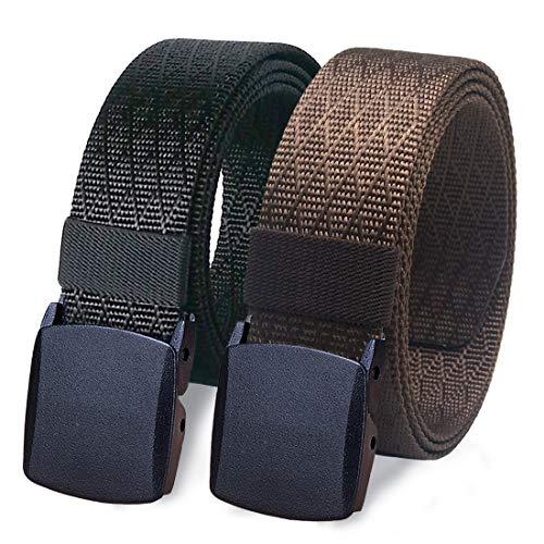 WYuZe Plus Size Nylon Belt Mens Military Tactical Belt 1.5
