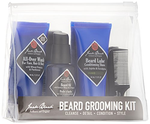 jack black beard grooming kit health and beauty in the. Black Bedroom Furniture Sets. Home Design Ideas