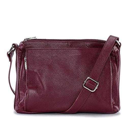 Fonce femme à Sac MY bandoulière OH Modèle Rouge Manatan main BAG en cuir U7wgx