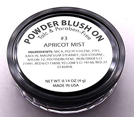Amazon.com: Pure Ziva Blush Pressed Powder, Talco & paraben ...