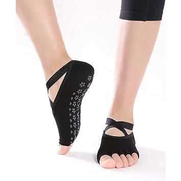 DYJILE Calcetines de Yoga de Mujer versátil Calcetines ...