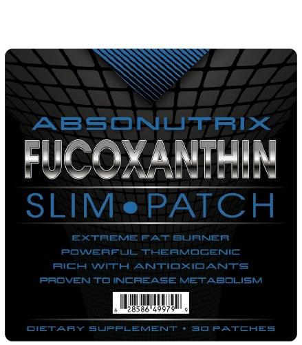 Absonutrix Correctifs fucoxanthine Slim - 30 patchs - Extreme Fat Burner - Formule la plus avancée