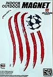 New England Revolution 5'' Vinyl Auto Home Magnet MLS Soccer Football Club