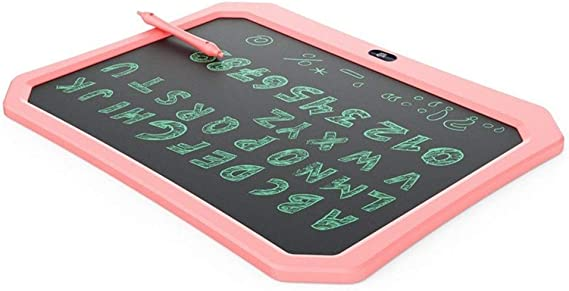 LCDライティングタブレット17インチ落書き製図板ポータブル電子機器のデジタル手書きパッド ペン&タッチ マンガ・イラスト制作用モデル (Size : Pink)