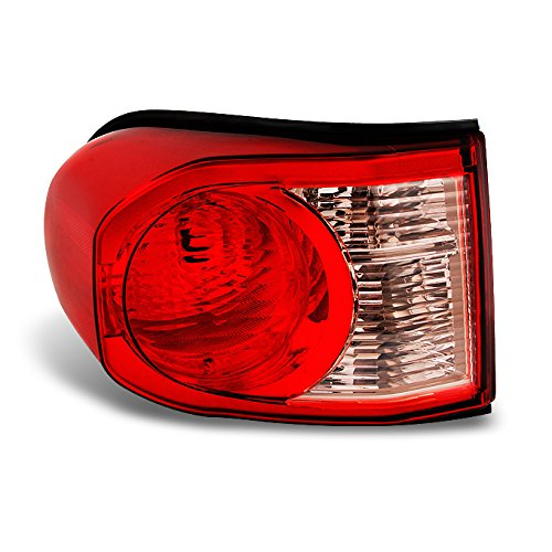 For Toyota FJ Cruiser SUV Red Clear Rear Tail Light Brake Lamp Taillamp Repalcement Dirver Left Side