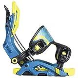 Flow Fuse Snowboard Bindings Mens Sz L (7.5-11.5) Neon