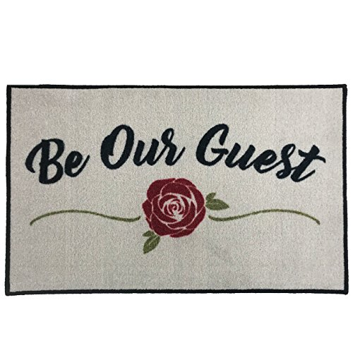 Be Our Guest Welcome Doormat ~ 2' x 3' - FMS Exclusive