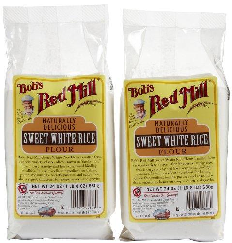 - Bob's Red Mill Sweet White Rice Flour - 24 oz - 2 Pack