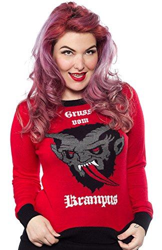 Sourpuss Krampus Sweater 3X