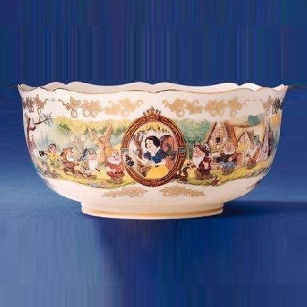 Lenox Fine China Snow White and The Seven Dwarfs Anniversary Bowl from