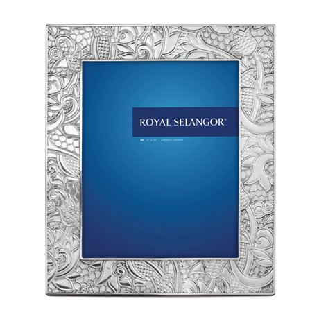 Royal Selangor Hand Finished Promessa Collection Pewter Photo Frame (8R) by Royal Selangor