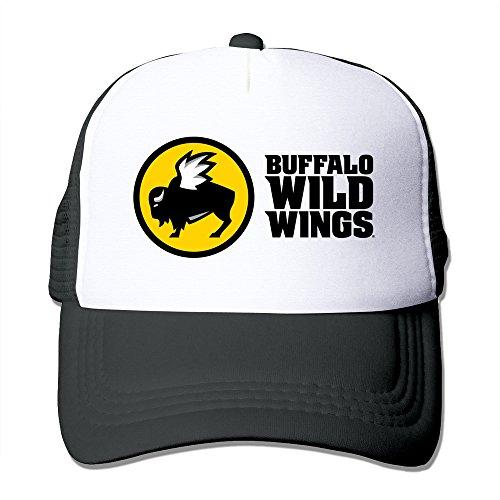 black-hglenice-buffalo-wild-wings-unisex-adjustable-baseball-trucker-caps-one-size