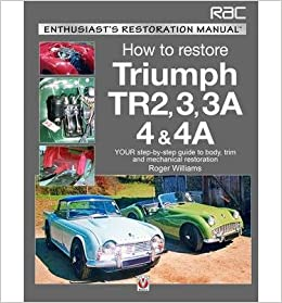 Triumph TR2, 3, 3A, 4 & 4A - Enthusiast's Restoration Manual (Enthusiast's Restoration Manuals)- Common