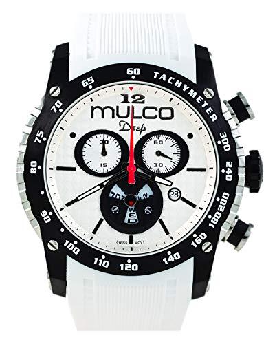 Relogio Masculino Mulco Deep Scale Isa White Mw1-29878-015