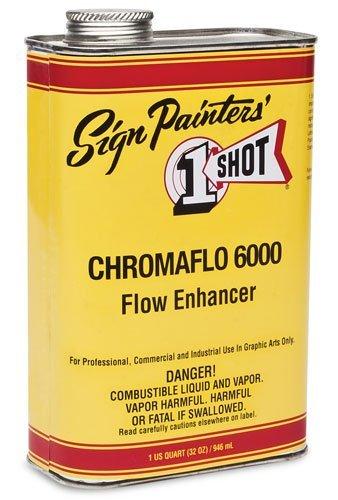 1 Shot Pinstriping Paint Standard Flow Enhancer Quart by 1-Shot