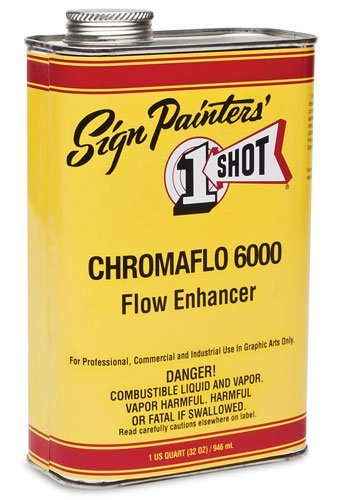 1 Shot Pinstriping Paint Standard Flow Enhancer Quart