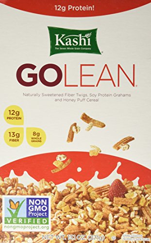 Kashi GOLEAN Cereal, 13.1-Ounce Boxes (Pack of 6) (High Cereal Cereal Fiber Kashi)
