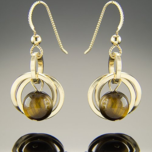 Jewelry 14k Stone Earrings - 6