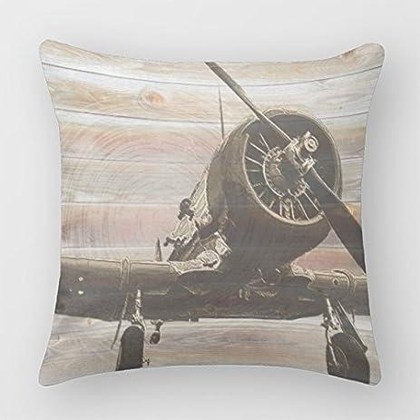 Amazon Follies Decor Pillow Cases Vintage Airplane Decorative Delectable Airplane Decorative Pillow