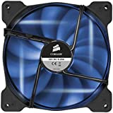 Corsair CO-9050026-WW Air Series SP140 LED 140mm Haute pression à faible son LED Ventilateurs de boitier Single Pack Bleu