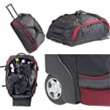 Akona 9 lbs. Super Lightweight Roller Bag for Scuba Dive Diving Diver Snorkeling Travel Travelling Traveler Luggage Suitcase Gear Sports Bag Authorized Dealer Full Warranty