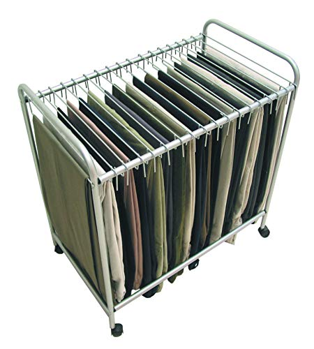 Jobar International Storage Dynamics RET3616 Rolling Pants Trolley Steel