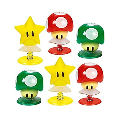 Super Mario Brothers Creature Pop-Ups, Party Favor: Toys & Games