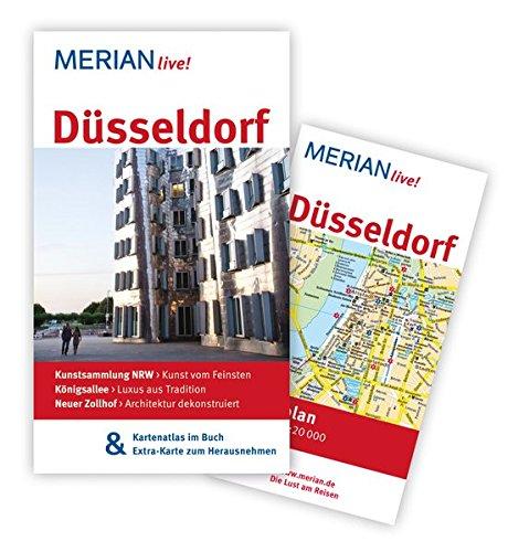 MERIAN live! Reiseführer Düsseldorf: MERIAN live! - Mit Kartenatlas im Buch und Extra-Karte zum Herausnehmen